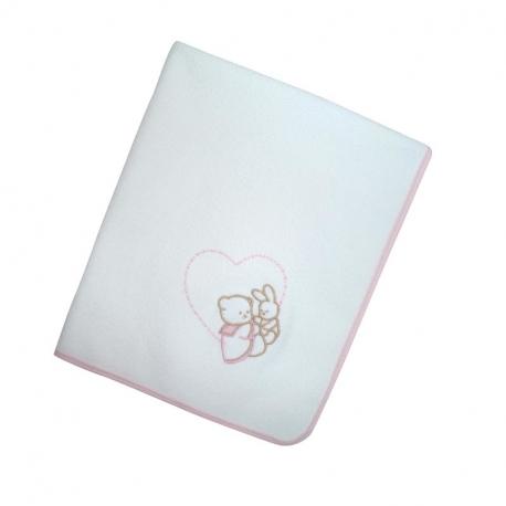 Σελτεδάκι Nona Bebe με κέντημα Καρδούλα 40 x 60 cm