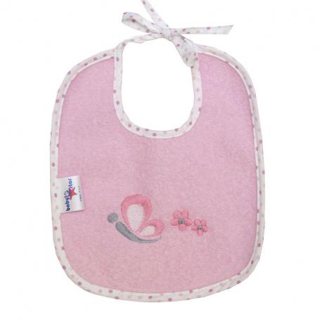 Σαλιάρα αδιάβροχη Baby Star Sweet Dots 21 x 19 cm