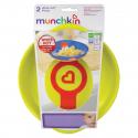Munchkin πιάτα ασφαλείας με ειδοποίηση υπερθέρμανσης White Hot® σετ των 2
