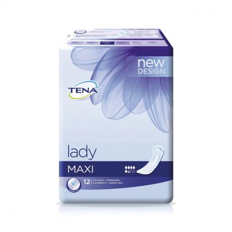 Σερβιέτες λοχείας TENA® Lady Maxi Instadry