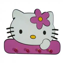 Κρεμάστρα Hello Kitty