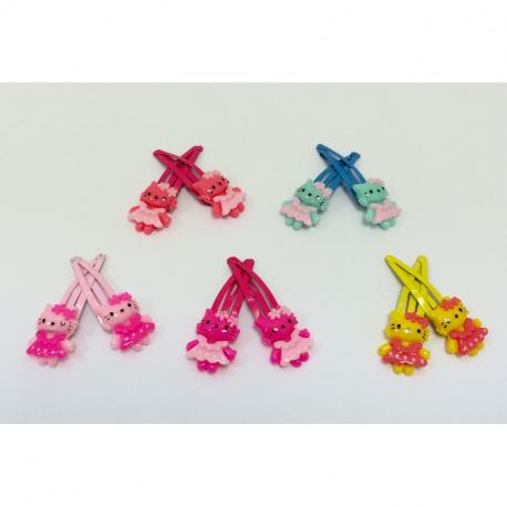 Κλικ-κλακ μικρά G&P Accessories Hello Kitty σετ των 2