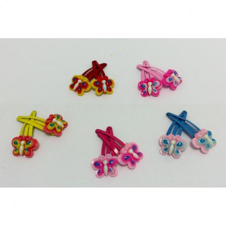 Κλικ-κλακ G&P Accessories Πεταλούδα μικρή σετ των 2