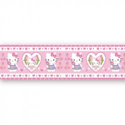 Μπορντούρα τοίχου Hello Kitty