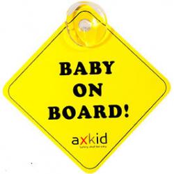 Axkid σήμα Baby on Board