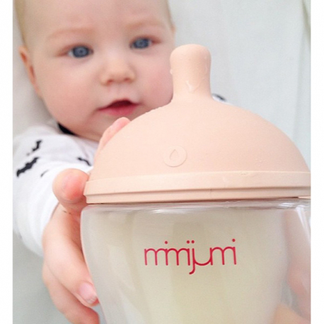 Mimijumi μπιμπερό Very Hungry Baby 240 ml με θηλή 0-12M