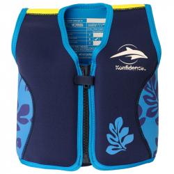 Σωσίβιο - γιλέκο Konfidence Original Jacket Navy Blue Palm 4-5 ετών