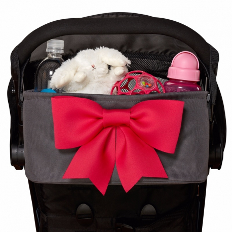 Πολυθήκη καροτσιού Choopie Super Cute CityBacket Pink Bow
