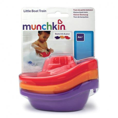 Βαρκούλες - τρενάκι μπάνιου Munchkin Boat Train