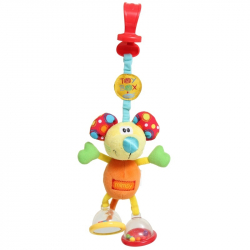 Ποντικάκι δραστηριοτήτων καροτσιού Playgro™ Toy Box Dingly Dangly Mimsy