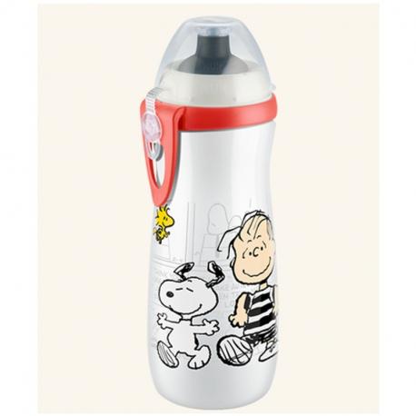 NUK® παγουράκι Sports Cup 450 ml Peanuts Snoopy 36M+