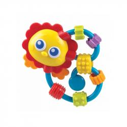Κουδουνίστρα οδοντοφυΐας Playgro™ Curly Critter Lion