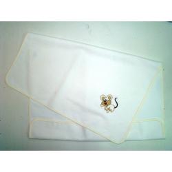 Σελτεδάκι Nona Bebe με κέντημα Ποντικάκι 60 x 80 cm