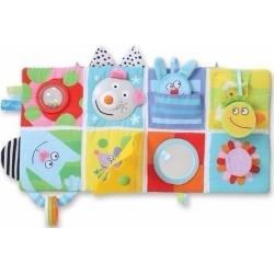 Μαλακό βιβλίο δραστηριοτήτων κρεβατιού Taf toys Cot Play Center