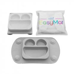 EasyMat® Mini πιάτο - σουπλά με βεντούζες, καπάκι και θήκη μεταφοράς
