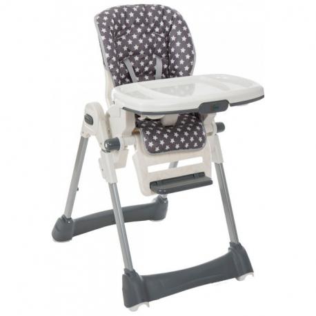 Fillikid καρέκλα φαγητού Aron Grey Star