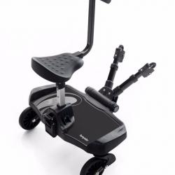 Πλατφόρμα καροτσιού με κάθισμα Bumprider Ride-on Board Sit Grey