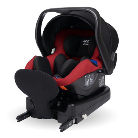 Κάθισμα αυτοκινήτου Axkid Modukid Infant i-Size Red 0-13 kg