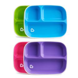 Munchkin πιάτα με διαχωριστικό Splash™ σετ των 2