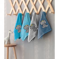 Πετσέτες Palamaiki Elephant σετ των 4