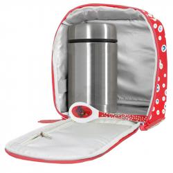 LAKEN σετ θερμός φαγητού 500 ml με τσάντα Katuki Saguyaki Pompas και κουτάλι