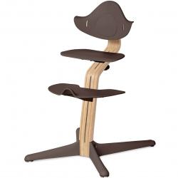 Σετ κάθισμα, υποπόδιο και βάση εδάφους καρέκλας Nomi Highchair Coffee