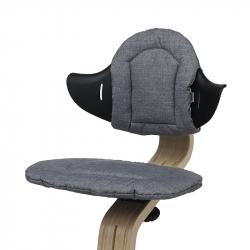 Μαξιλάρια διπλής όψης για καρέκλα Nomi Highchair Cushion Dark Grey - Sand