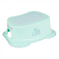 TEGA BABY® αντιολισθητικό σκαλάκι μπάνιου Little Bunnies Light Green