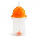 Munchkin κύπελλο Click Lock™ Tip & Sip 296 ml με βουρτσάκι καθαρισμού