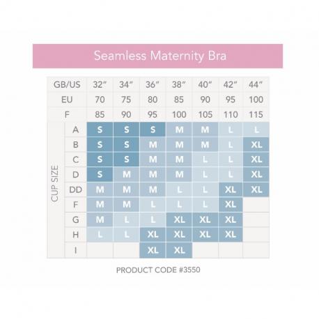 Σουτιέν εγκυμοσύνης Carriwell Seamless Maternity Bra L
