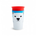 Munchkin κύπελο Miracle® 360° WildLove Sippy Polar Bear 266 ml
