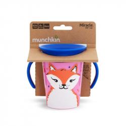 Munchkin εκπαιδευτικό κύπελο Miracle® 360° WildLove Trainer Fox 177 ml