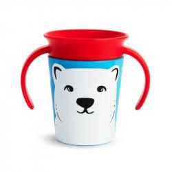 Munchkin εκπαιδευτικό κύπελο Miracle® 360° WildLove Trainer Polar Bear 177 ml
