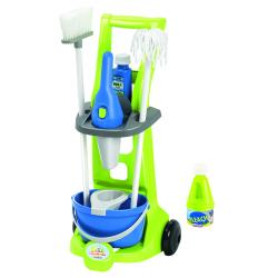 Σετ τρόλεϊ καθαρισμού Ecoiffier CleanHome