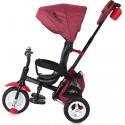 Τρίκυκλο ποδήλατο LoreLLi® Moovo Air Tires Red & Black Luxe