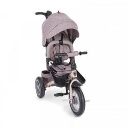 Τρίκυκλο ποδήλατο Kikka boo Premio 3 in 1 Air Wheels Beige Melange