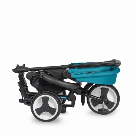 Τρίκυκλο ποδήλατο Coccolle Spectra Air Turquoise Tide με τροχούς αέρα