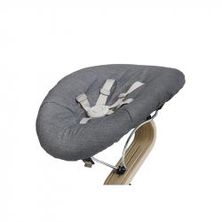 Στρώμα διπλής όψης με ζώνη ασφαλείας για ριλάξ Nomi Baby Dark Grey - Sand