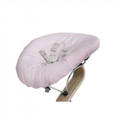Στρώμα διπλής όψης με ζώνη ασφαλείας για ριλάξ Nomi Baby Pale Pink - Sand
