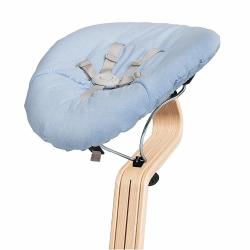 Στρώμα διπλής όψης με ζώνη ασφαλείας για ριλάξ Nomi Baby Pale Blue - Sand