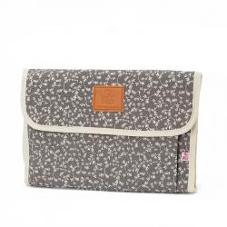 My Bags θήκη - αλλαξιέρα Flowers Dark Grey