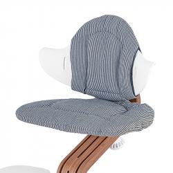 Μαξιλάρια διπλής όψης για καρέκλα Nomi Highchair Cushion Chambray - Striped