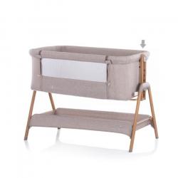 Λίκνο προσαρμοζόμενο δίπλα στο κρεβάτι των γονέων ChipoLiNo Sweet Dreams Mocca