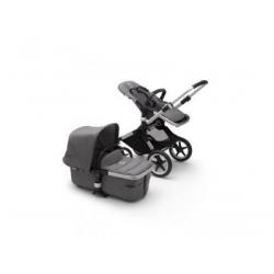 Καρότσι και port-bebe Bugaboo Fox2 Complete Aluminum - Grey Melange