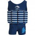 Σωσίβιο - ολόσωμο μαγιό Konfidence™ Floatsuit Breton 1-2 ετών