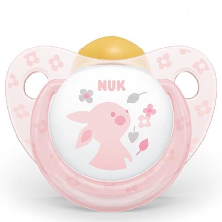 NUK® πιπίλα Tredline Baby Rose μέγεθος 1 (0-6M)