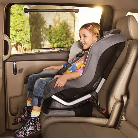 Brica® for munchkin® πτυσσόμενη ηλιοπροστασία αυτοκινήτου Sun Safety™ White Hot®