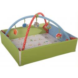 Αλλαξιέρα και στρώμα δραστηριοτήτων Roba® Woodland Marriage με αψίδα παιχνιδιών