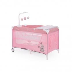 Παρκοκρέβατο Kikka boo Day&Night Pink Rabbit