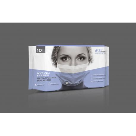 Cover-tex μάσκες μίας χρήσης σετ των 10